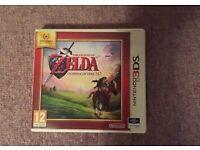 Zelda ocarina of time 3d complete Nintendo 3ds