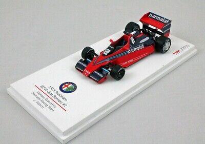 1:43 Brabham Alfa Romeo BT46 Watson Monaco 1978 1/43 • TRUESCALE TSM144303