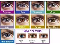 CONTACT LENSES - COLOURBLENDS - SUITABLE FOR ALL EYES