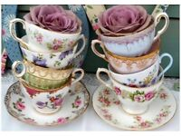 Vintage china for special occasion