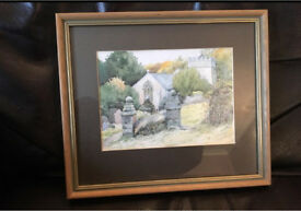Watercolour painting in frame only £5.00
