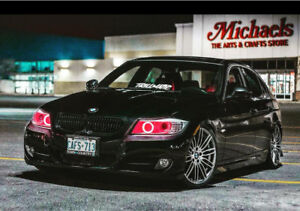"""BMW preformace rims 19"""" with Michelin sport run flat tires"""