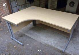 Corner Desk with side units