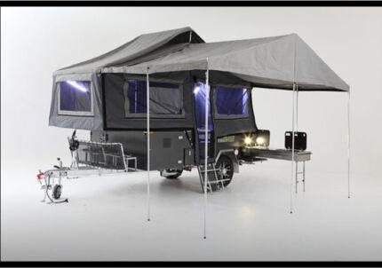 Camper trailer off-road leisure matters forward folding Halls Head Mandurah Area Preview
