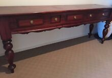 Antique Wooden Buffet Table (5 drawer) St Kilda Port Phillip Preview