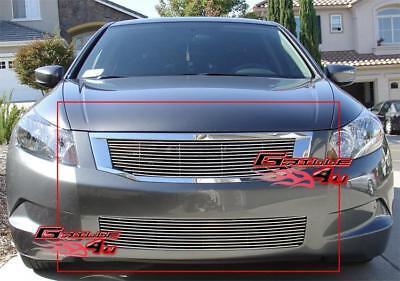 Honda Accord Billet Grille - Fits 08-10 Honda Accord Sedan Billet Grille Combo