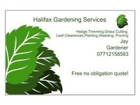 Halifax Based Gardening Services Free No Obligations Quote Grass Cutting Hedge Trimming Weeding etc