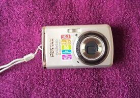 Pentax Optio E60 10.1MP Digital Camera - Silver