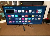 Samsung 48 inch led smart wifi new condition fully working with remote