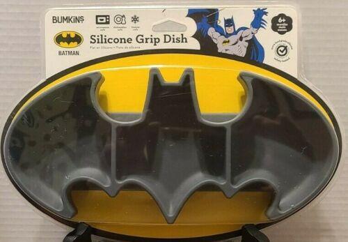 NEW Batman Silicone Grip Dish Sealed Original Packaging Bumpkins 2017 Ships Free