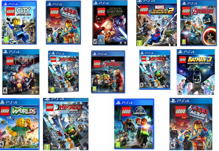 All New Games For Ps4 : Ps lego games city centre gumtree classifieds south