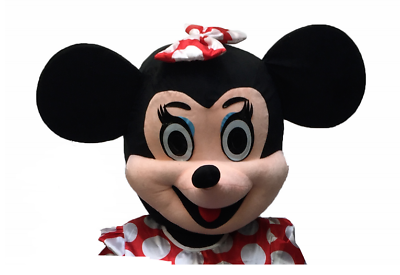 Halloween Minnie Mouse Mascot Costume Birthday Party Fancy Dress Adults Cosplay