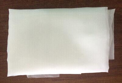 1 Yard 120m48t Silk Screen Printing Mesh Fabric 50in Wide Screen Mesh Usa