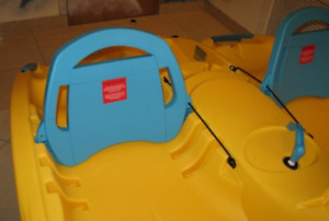Looking for seat backs to fit paddle boat