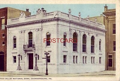 1920 The Valley National Bank  Chambersburg  Pa