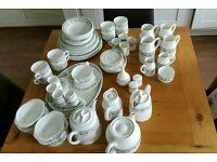 72 piece dinner service - Wedgewood bone china