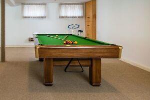 Brunswick Hawthorne Model 1000 Snooker Table