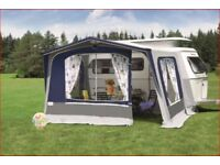 Eriba Triton 420/430 Twin Awning with Fibre Glass lightweight frame.