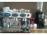 Expobar 15lt 2 group Coffee machine with Grinder 5months ald £1400(ONO)