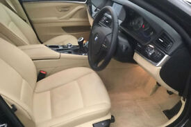 Black BMW 520 2.0TD 2012 d SE FROM £51 PER WEEK!