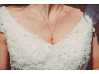 'Maggie Sottero' Ivory Wedding Dress Size 6-8