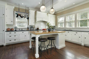Kitchen cabinetry and furniture painting