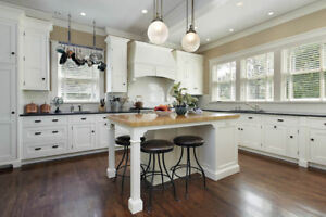 Custom cabinetry and furniture refinishing