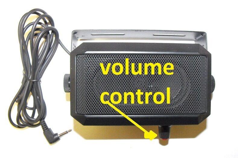 EXTERNAL volume control best ham cb communication SPEAKER