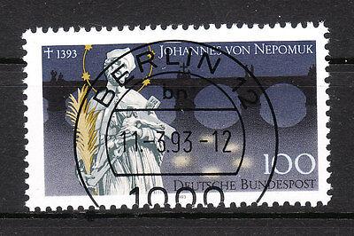 BRD 1993 Mi. Nr. 1655 gestempelt BERLIN 12 , mit Gummi TOP! (16634)