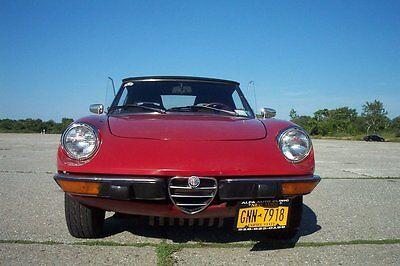 1974 Alfa Romeo Spider Veloce 1974 ALFA ROMEO SPIDER