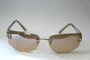 3 Pair of eyeglasses with light mirror effect and crystals