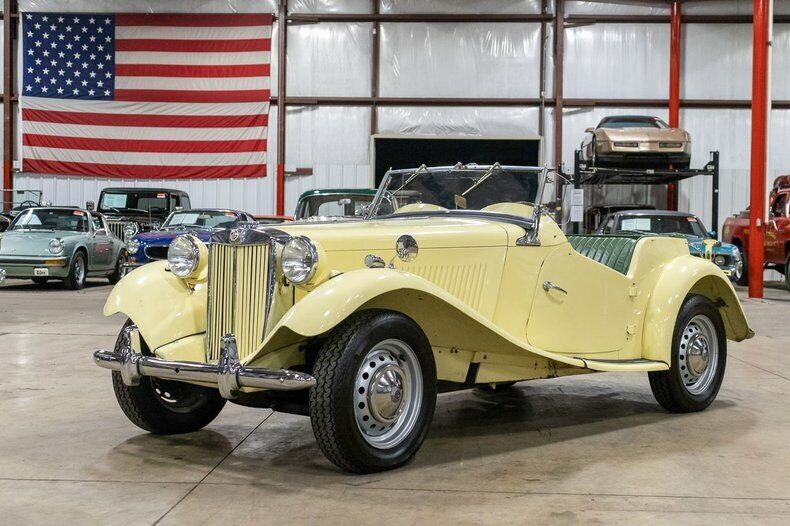 1953 MG TD  3310 Miles Ivory Cream Roadster 1250cc 4 Cylinder 4-Speed Manual