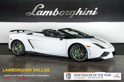 2011 Lamborghini Gallardo LP570-4 Performante  FACTORY CERTIFIED WARRANTY!+NAV+RR CAM+CARBON FIBER EXTERIOR