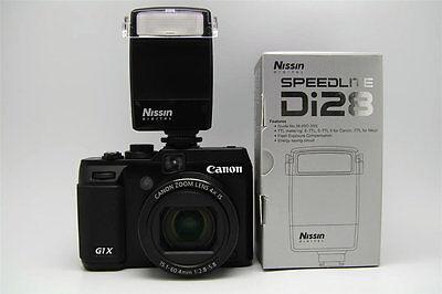 Flash E-TTL Speedlite Nissin Di28 pour Canon PowerShot G7 9 EOS 500D 600D 650D