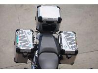 BMW Motorrad Top Panniers Case Box Cover R1200GS F800 F700 Waterproof Sticker