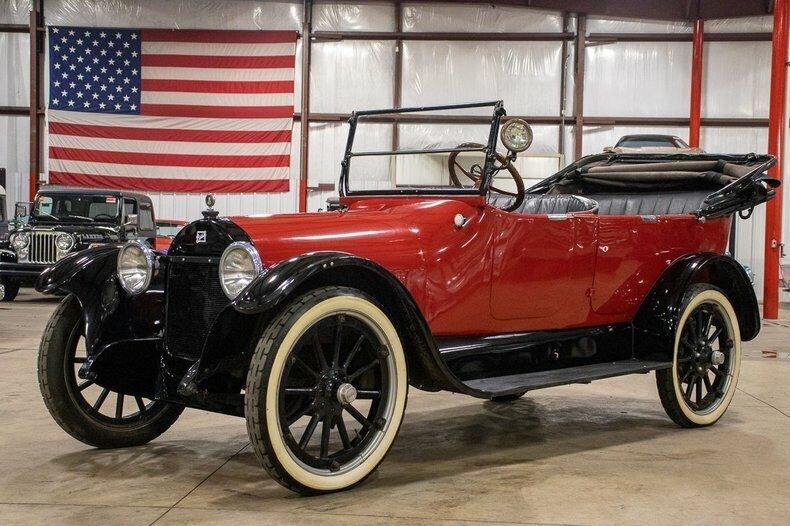 1919 Buick Model H45 Touring 1919 Buick Model H45 Touring 14330 Miles Red Convertible 6-Cylinder Manual