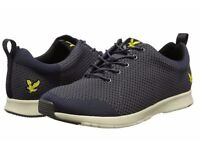 Lyle & Scott Nethan Knit Trainer Grey - Brand New Boxed - Size 9