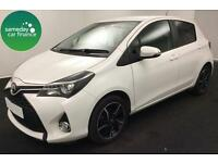 £171.14 PER MONTH WHITE 2014 TOYOTA YARIS 1.33 SPORT
