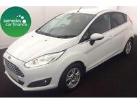 £165.72 PER MONTH 2013 WHITE FORD FIESTA 1.6 ECONETIC TITANIUM S/S DIESEL MANUAL