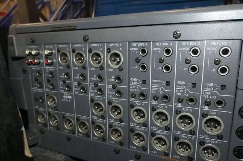 Table de mixage yamaha m2000