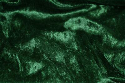Velvet Panne  Crushed Backdrop Velour Stretch Fabric 60