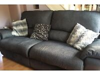Large 2/3 seater recliner sofa