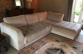 Large, VGQ Italian L-Shape Sofa