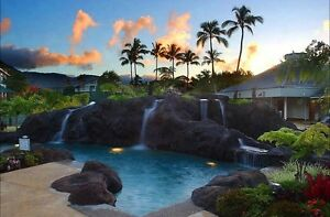 KAUAI, HAWAII-The Cliffs Club, Princeville 1 wk 2016 sleeps 6