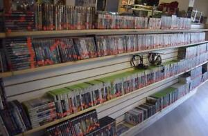 The HBS-Hydrostone Video Game Wall is GROWING! Best Deals on Games in Halifax! Buy 2 Get 1!