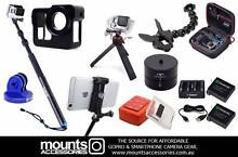 Mounts Accessories for GoPro Hero 4, 3+, 3 & 2 -20% off storewide Sydney City Inner Sydney Preview