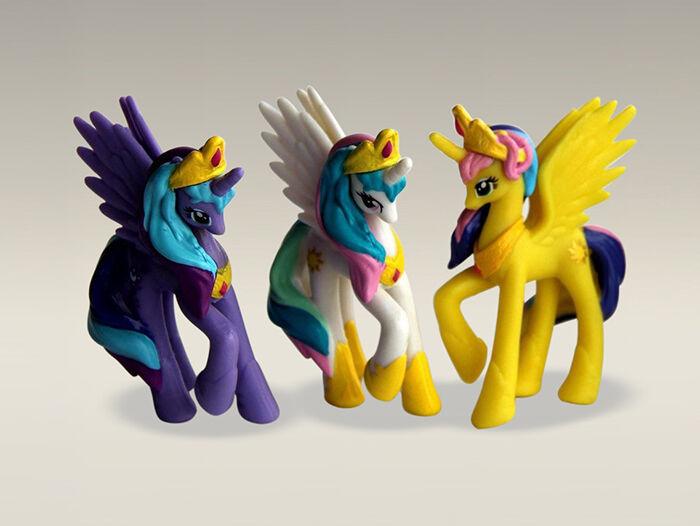 Woran erkennen Sie ein Hasbro-Pony?