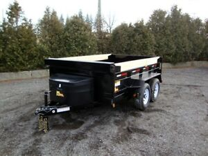 Scissor Lift Dump Trailers by Miska