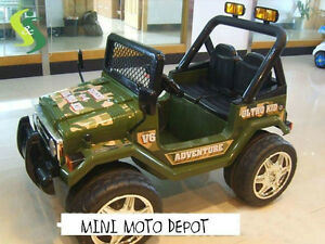 VOITURES ELECTRIQUE RIDE ON CAR 12 volts MINI MOTO DEPOT