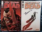 Image Comics - The WALKING DEAD #103 and #111 signed by Robe